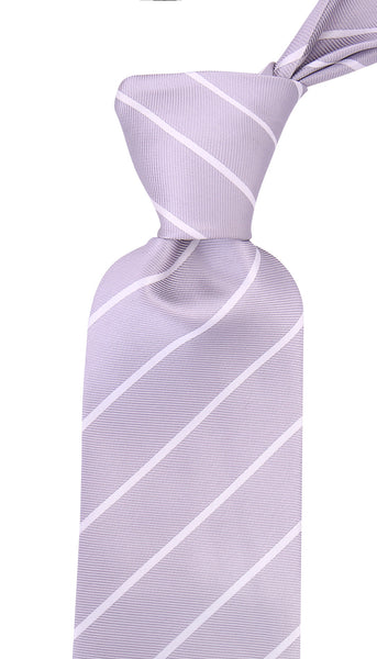 Gray Pencil Stripe Necktie