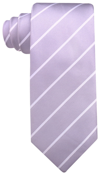 Gray Pencil Stripe Necktie - Scott Allan Collection
