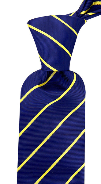 Blue Yellow Necktie