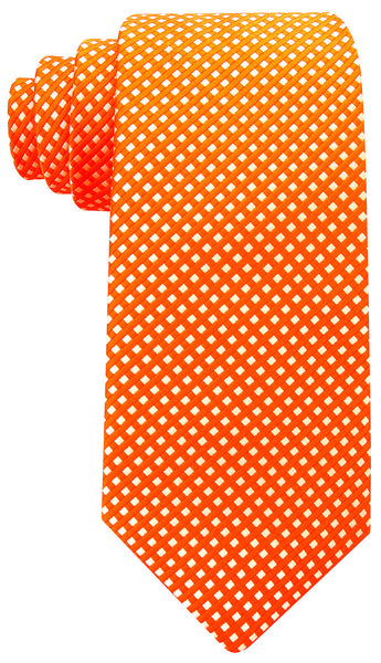 Orange Diamond Necktie