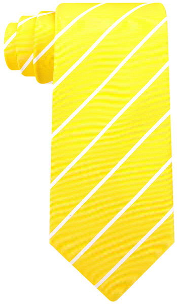 Yellow Pencil Stripe Necktie