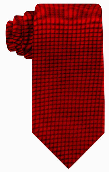 Micro Dot Necktie - Burgundy - Scott Allan Collection