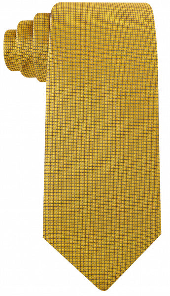 Gold Solid Necktie