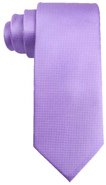 Purple Solid Necktie