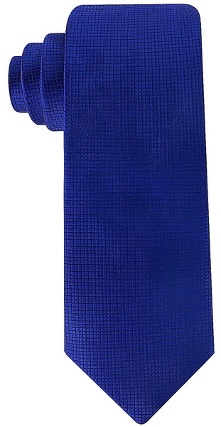 Navy Blue Solid Necktie