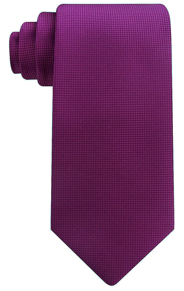 Plum Purple Solid Necktie