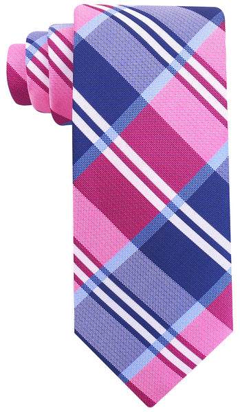 Pink Buffalo Plaid Necktie