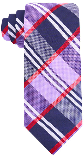 Purple Buffalo Plaid Necktie