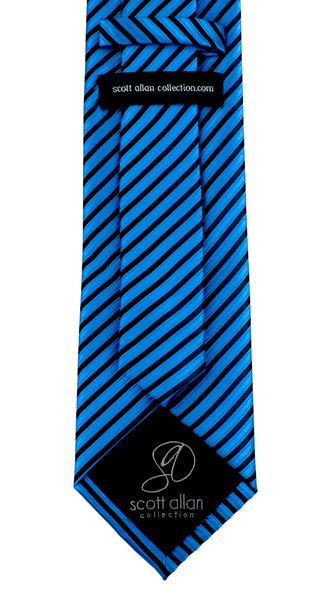 Blue Striped Necktie