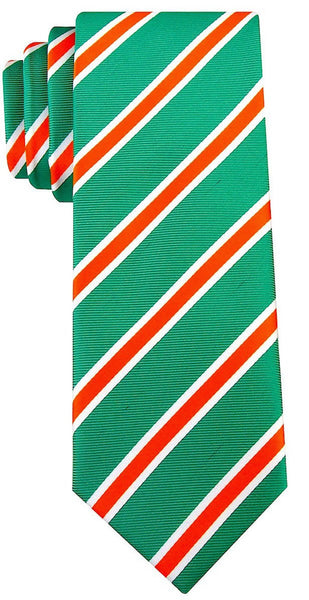 Green & Orange Necktie