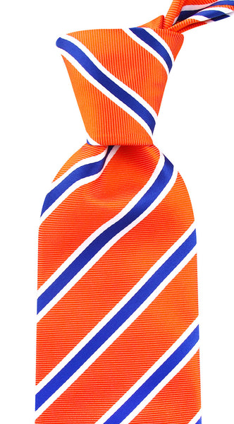 Orange & Blue Necktie