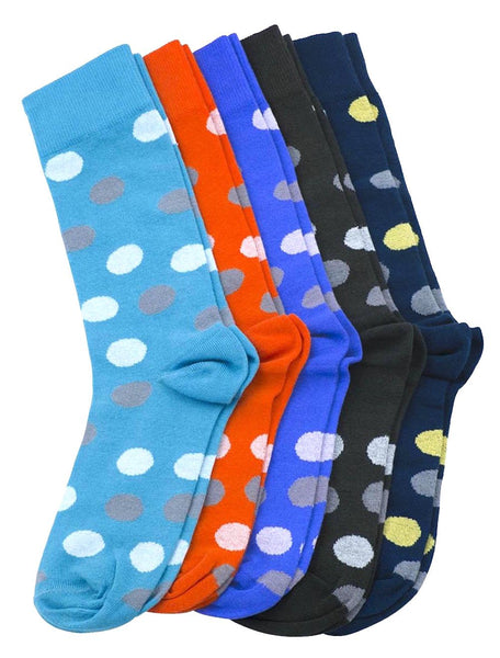 Scott Allan Mens Colorful Dress Socks (5 Pack)
