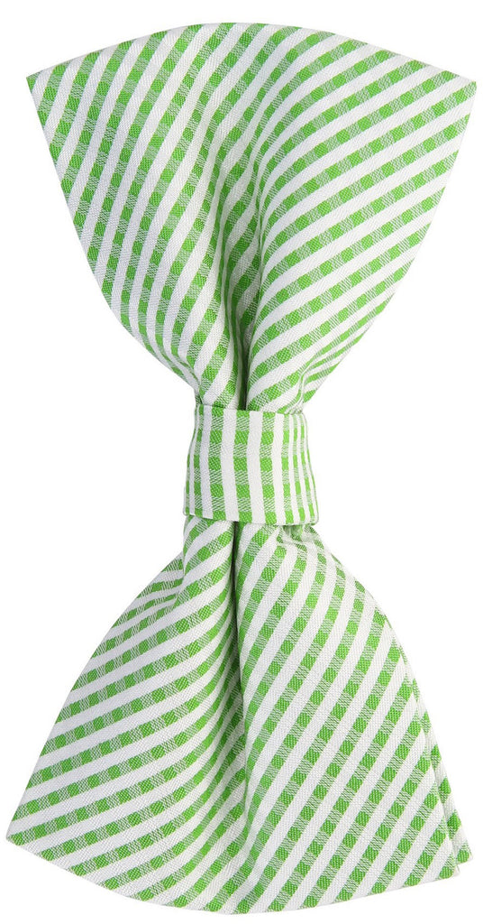 Green Plaid Bow Tie - Scott Allan Collection