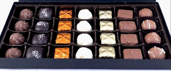 28 pieces assorted chocolate made with premium ingredients canada