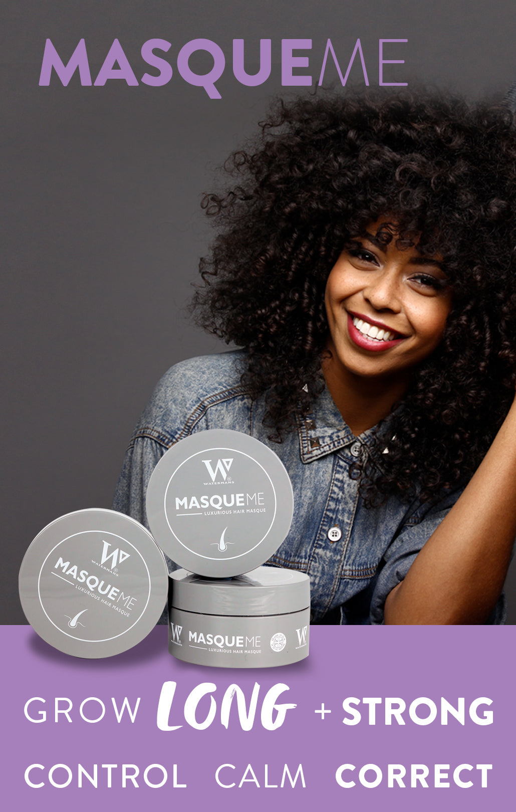 MASQUE ME  - hair mask - curly hair treatment