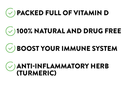 Watermans Allevi8 - Boost immune system naturally with these powerful ingredients.  Packed full of Vitamin D for immune system health.