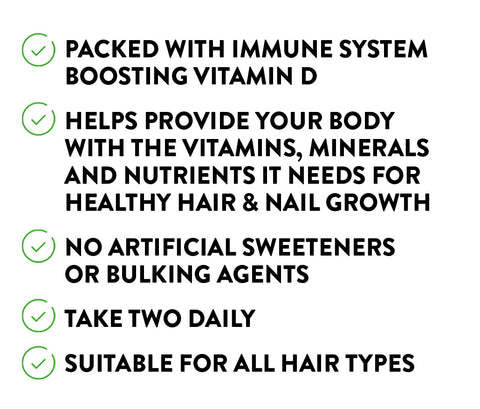 Watermans Grow Pro Hair Vitamins