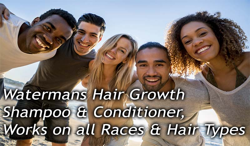 hair growth shampoo for all races and hair types
