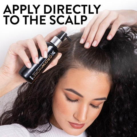 Grow More Elixir - Luxury Hair Growth Serum - Leave on Scalp treatment