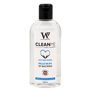 70% Alcohol Gel 250ml - Clean Me 250ml  - 70%  Antibacterial hand cleaner