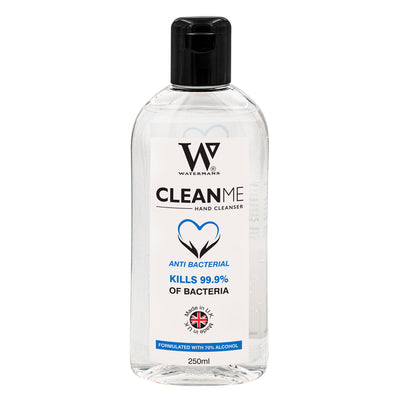 70% Alcohol Gel 250ml - Clean Me 250ml  - 70%  Antibacterial hand cleaner - Hair Growth Products