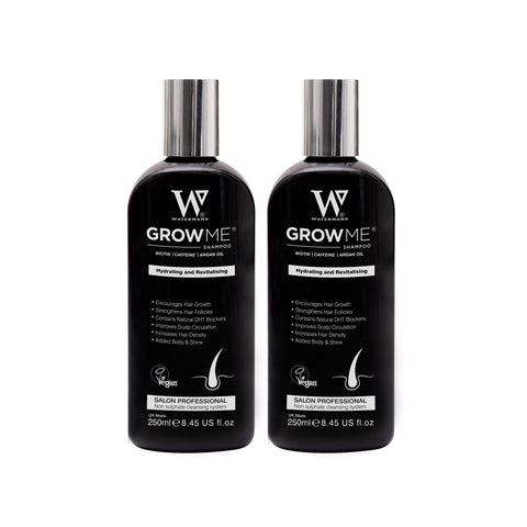 2 Bottles of Grow Me Shampoo
