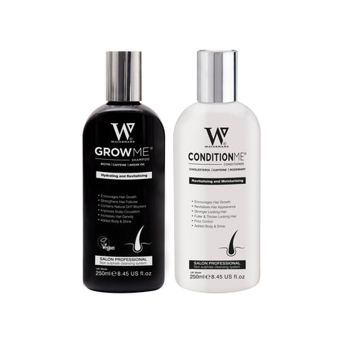 Grow Me® Shampoo & Conditioner Set for Thicker, Stronger looking hair.