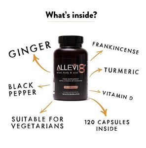 Allevi8 Boost immune system 1 bottle = two months supply