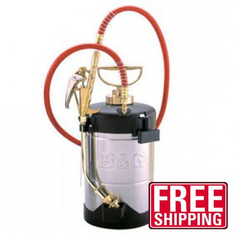 B&G 1 gallon Sprayer - 18 inch wand (N124-CC-18) )  - Bugs Or Us Pest Control Supply
