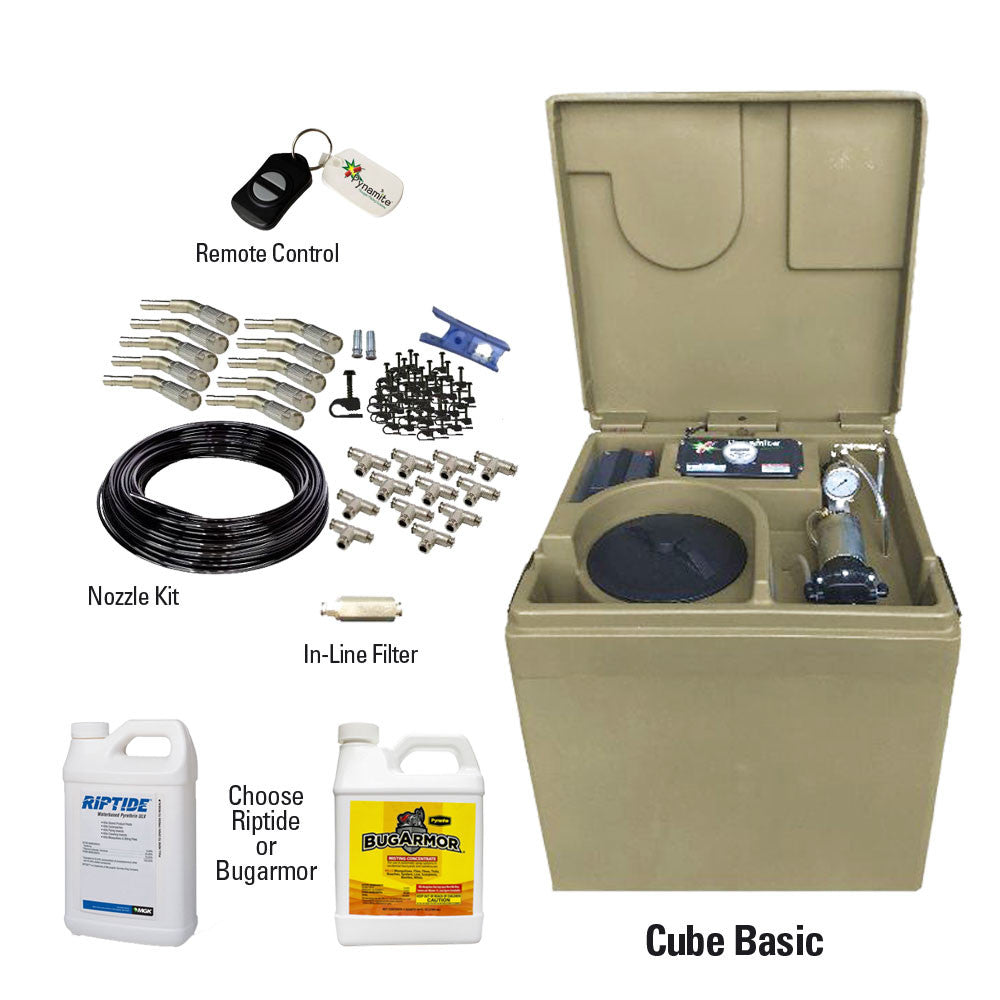 Mosquito Misting System - Cube Basic - Bugs Or Us Pest Control Supply