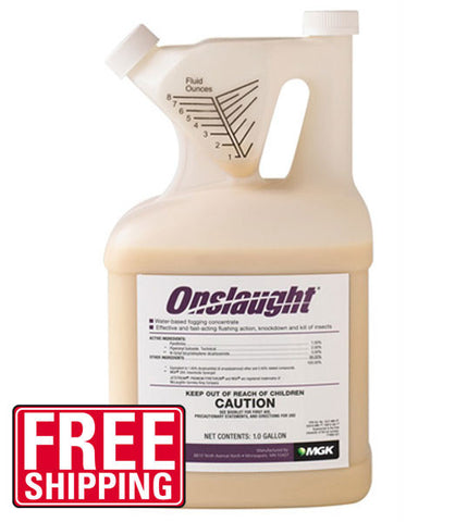 Onslaught Spider and Scorpion Insecticide - (128oz) - Bugs Or Us Pest Control Supply