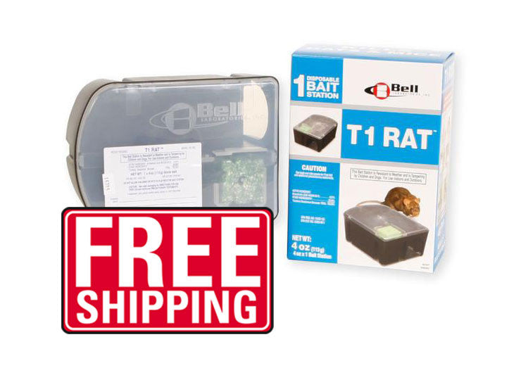 T1 DISPOSABLE RAT BAIT STATION - Bugs Or Us Pest Control Supply