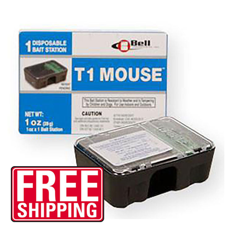 T1 DISPOSABLE MOUSE BAIT STATIONS - Bugs Or Us Pest Control Supply
