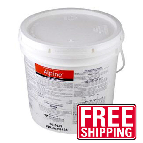 Alpine dust insecticide is the industry's first and only Reduced Risk non repellent dust for broad-spectrum control of crawling and flying insects. Alpine Dust may be used for bed bugs, ants and stinging insects.
