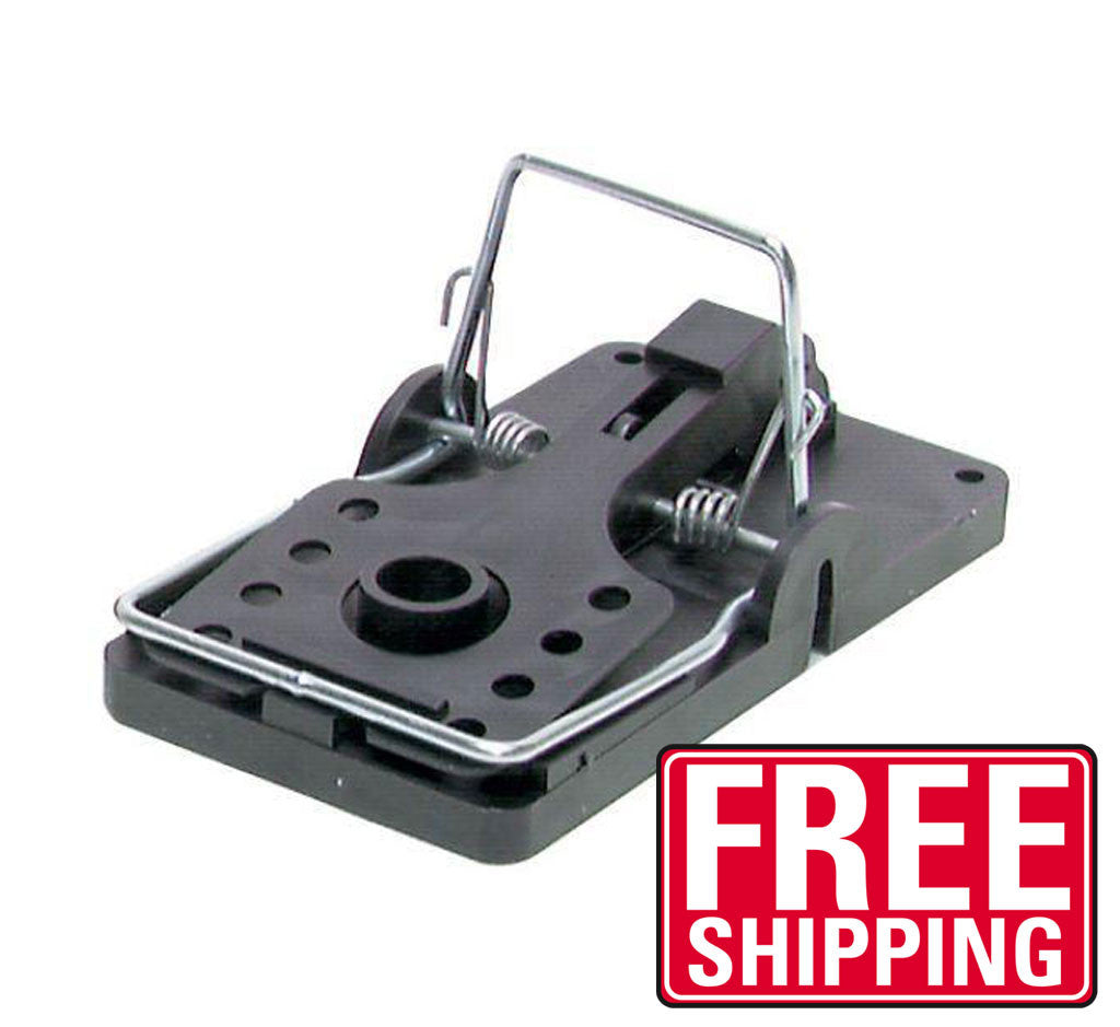 With the Big Snap-E Rat Trap, it is the end of the road for rats, gophers, chipmunks, ground squirrels and other pesky rodents. The quick response time makes certain that once caught, the rodent stays caught. Two pre-formed holes in the trap base allow for surface mounting. Fingers never touch the rodent. The Big Snap-E Rat Trap is made of durable polystyrene and steel. They both resist stains and odors common in old-fashioned wooden traps, are easy to clean and can be reused for years of service. They are