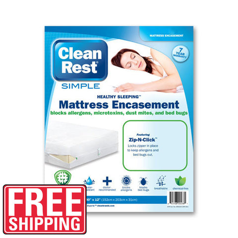 CleanRest Pro - California King (Box Spring) Qty -2  - Bugs Or Us Pest Control Supply