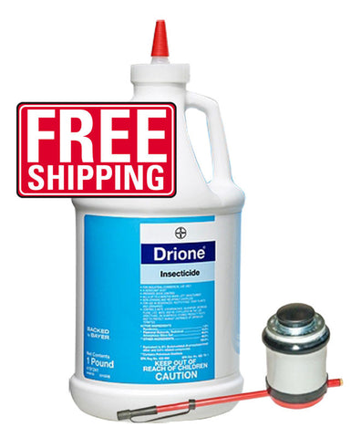 Bugs Or Us Pest Control Supply - Drione Pest Insecticide Dust w/Puffer Duster