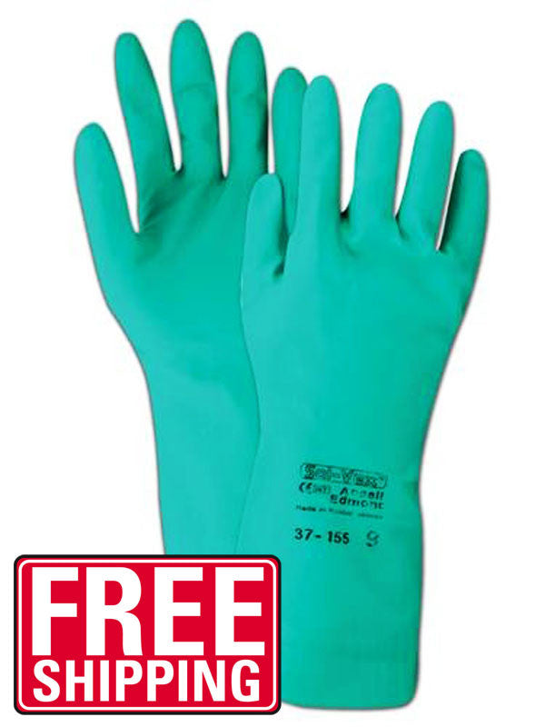 Nitrile Chemical Resistant Gloves (3 Pair)