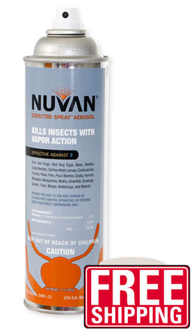 Nuvan Directed Spray Aerosol - Bugs Or Us Pest Control Supply
