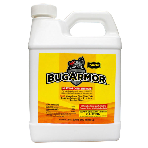 Pyranha Bug Armor Permethrin Misting System Concentrate - Bugs Or Us Pest Control Supply
