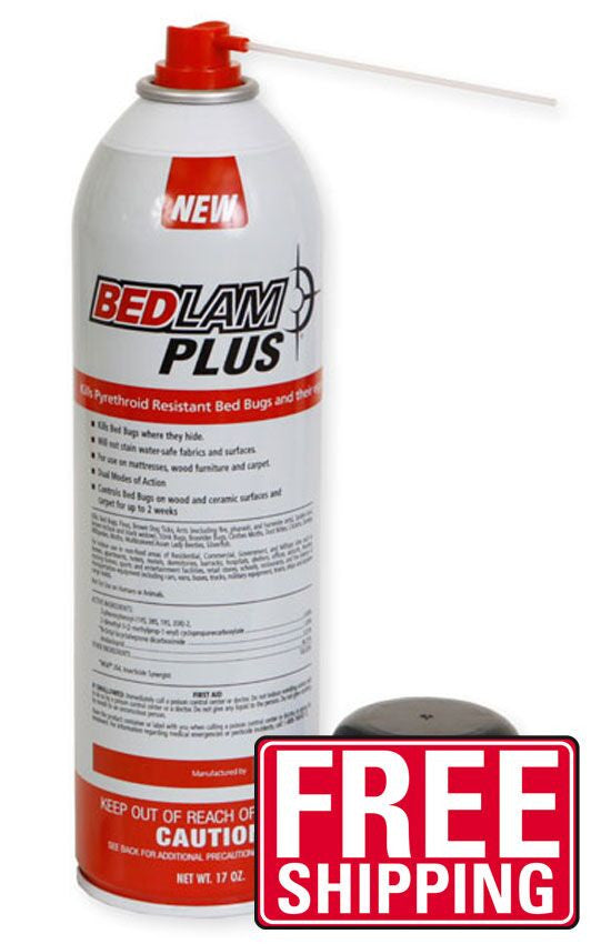 Bedlam Plus Aerosol was manufactured with the sole intent to treat pyrethroid-resistant bed bugs. Resistant bed bugs is a major issue across the country as many pyrethroid products have been used for years. Bedlam Plus Aerosol uses a dual mode of action that kills the toughest pyrethroid-resistant bed bugs fast. Best of all it kills bed bug eggs too! Bedlam Plus uses a combination of quick kill and residual control which is proven to kill resistant bed bugs and their eggs for two weeks after treatment.