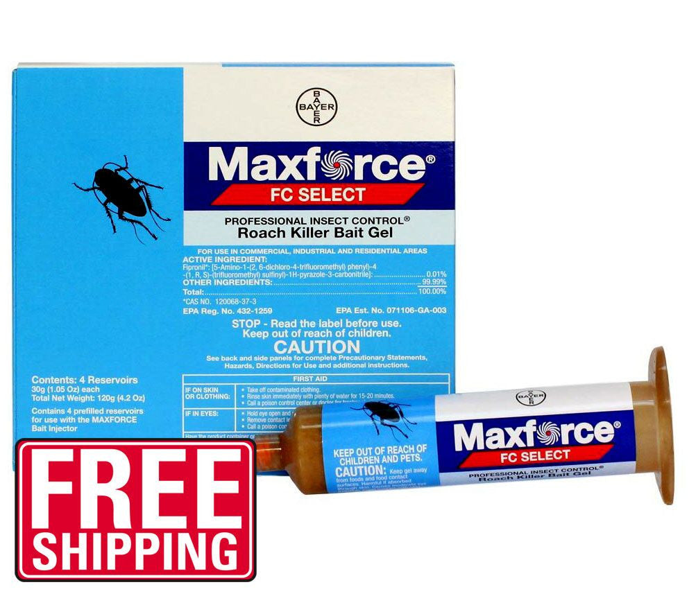 Maxforce FC Select 30 Gram Roach Killer Gel - Bugs Or Us Pest Control Supply
