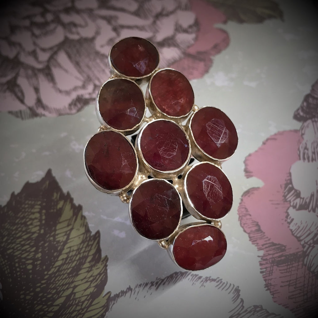 Ruby Red Ring - JUR106