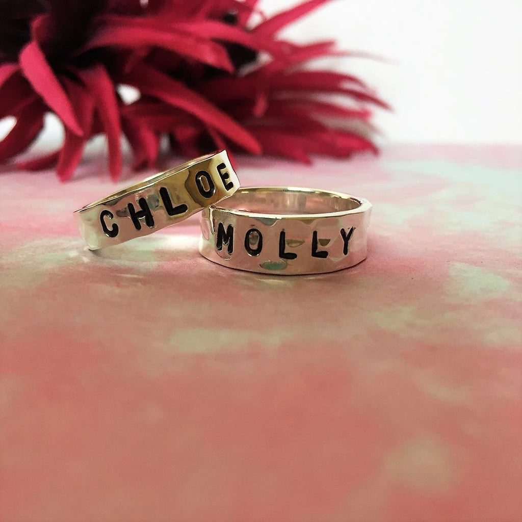 Personalised Message Ring - SPR1831