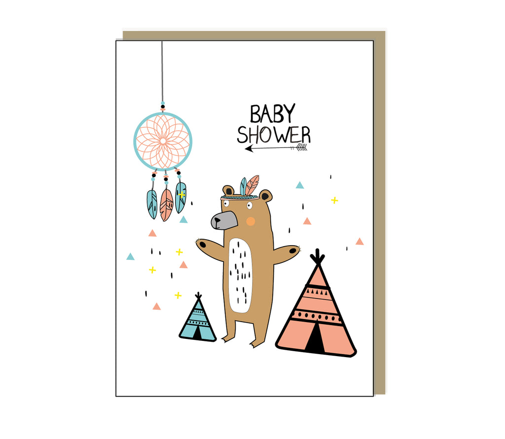 Baby Shower Greetings Card