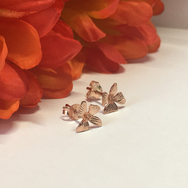 Sunset Flower Studs - VE308