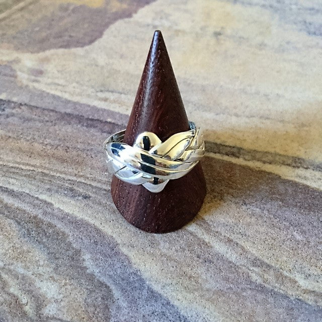 Silver Puzzle Ring - VR129