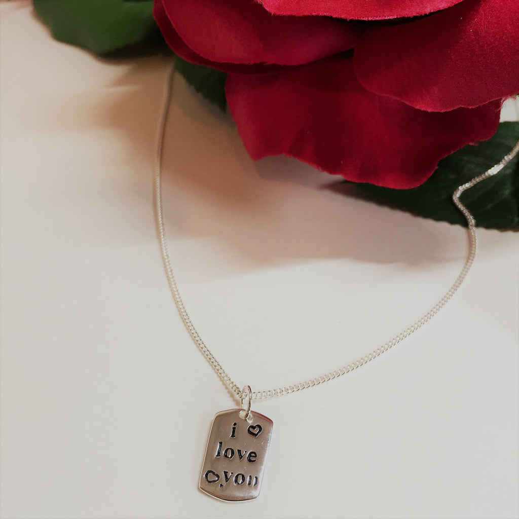 I Love You Pendant - SP2247