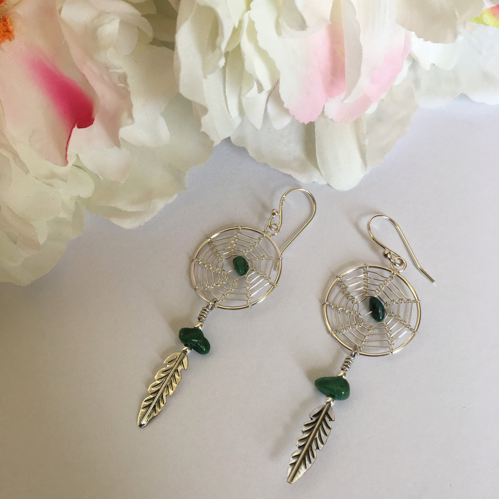 Dainty Dreamcatcher Earrings - VE344