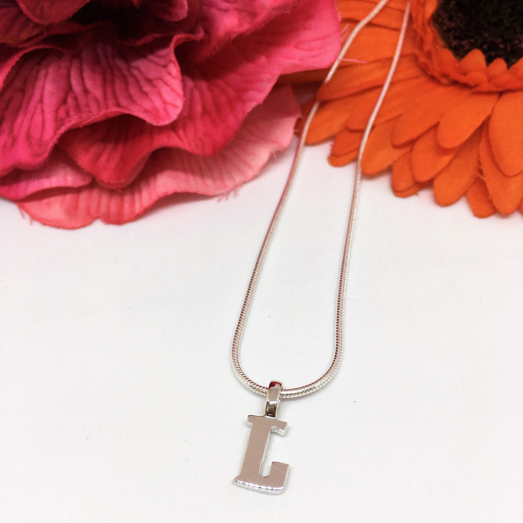 Alphabet Pendant - SP201